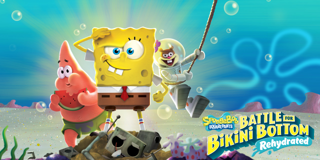 Battle For Bikini Bottom Rehydrated Logo