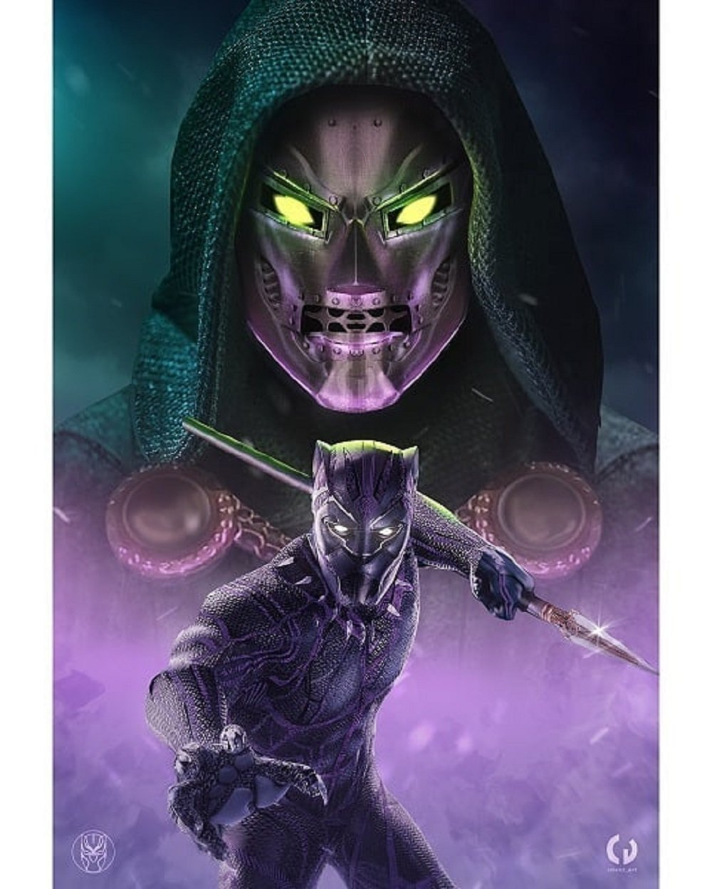 Doctor Doom Enters The Mcu On Gorgeous Black Panther 2 Fan Poster