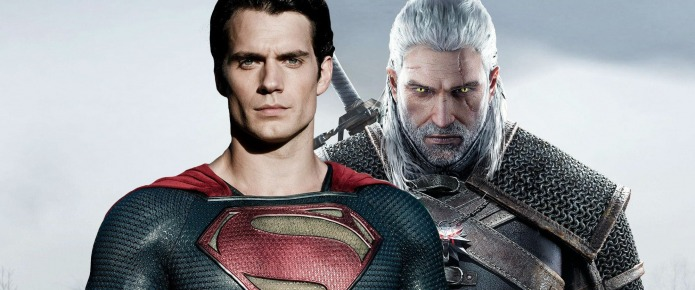 The Witcher Faces Off Against Superman In Awesome Henry Cavill Fan Art