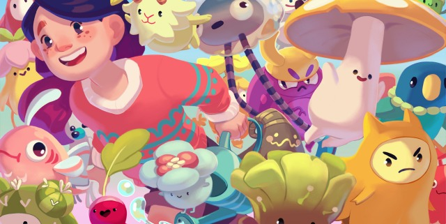 Ooblets key art