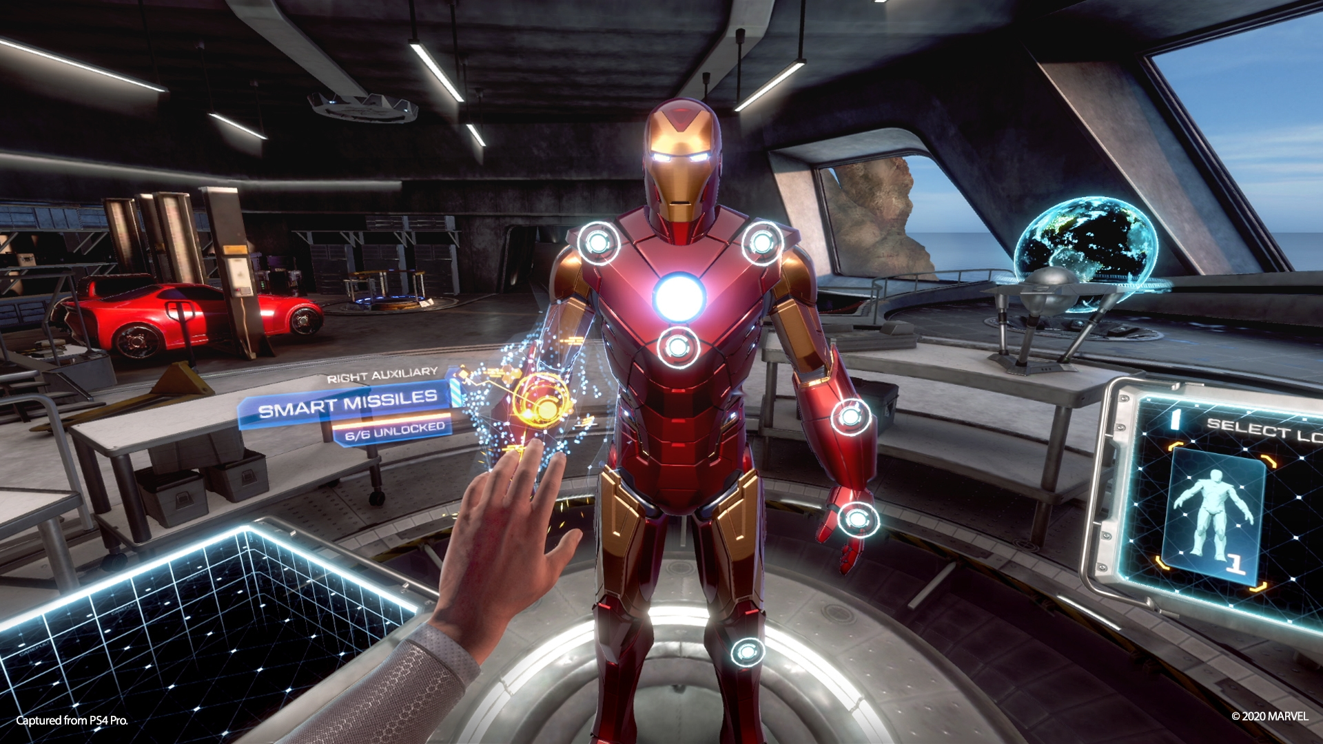 Iron Man VR Suit Station
