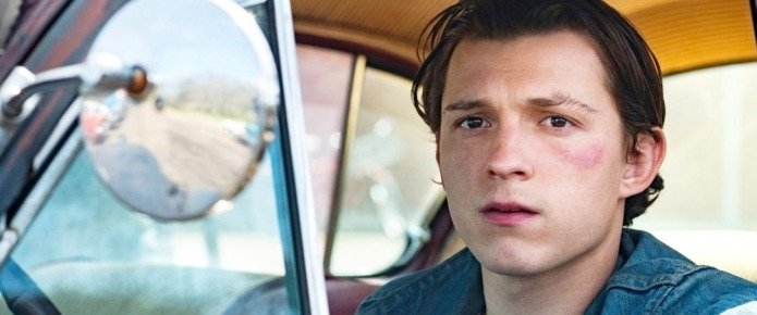 EW Debuts First Look At Tom Holland And Robert Pattinson In The Devil All The Time
