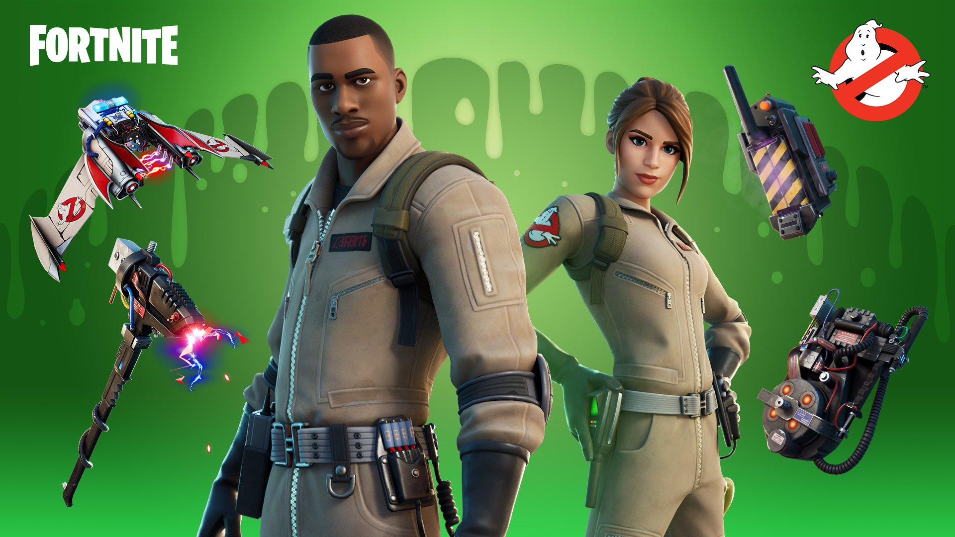 How To Get New Ghostbusters Skins In Fortnite
