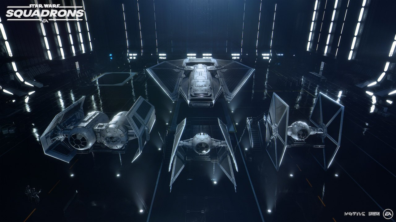 The Imperial Fleet in Squadrons