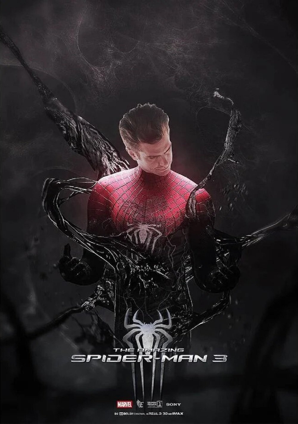 Venom Takes Over On Awesome Amazing Spider-Man 3 Fan Poster