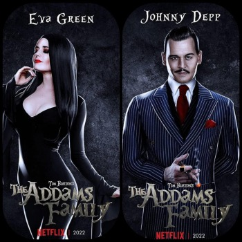 Here's How Johnny Depp Could Look In Tim Burton's Addams Family