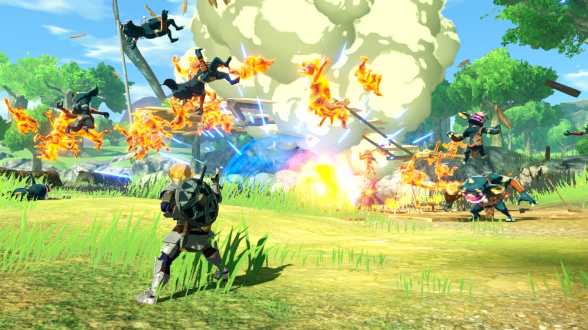 Hyrule Warriors Age of Calamity Combat