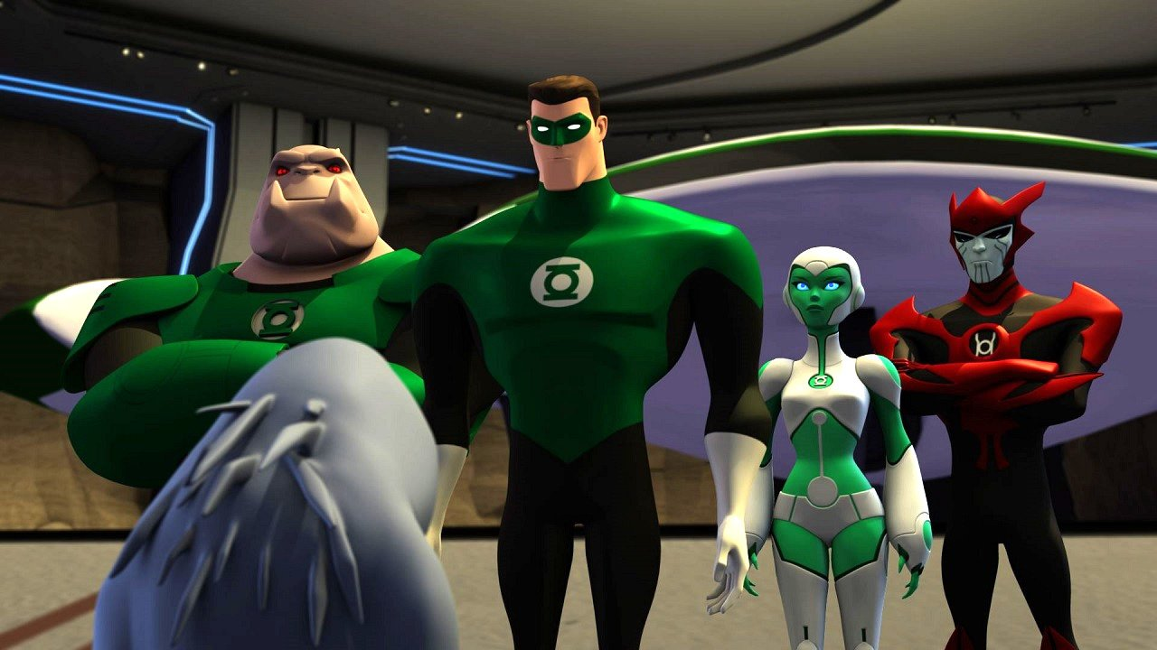 green lantern animated