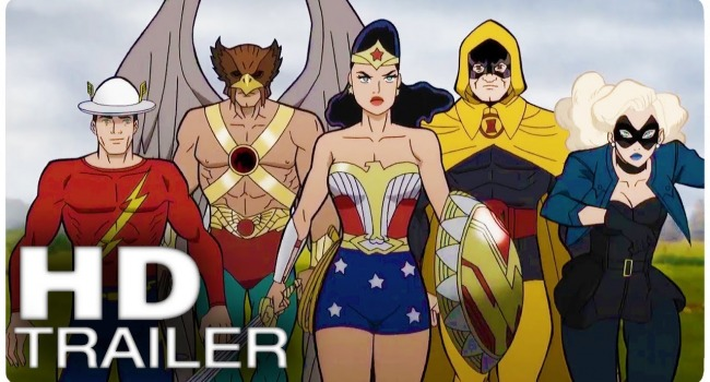 Watch: Justice Society: World War II Clip Sees Wonder Woman In Action