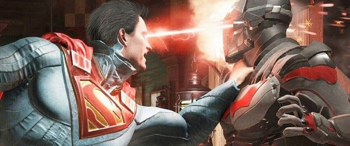 First Look At Superman, Batman And Wonder Woman In Injustice Movie