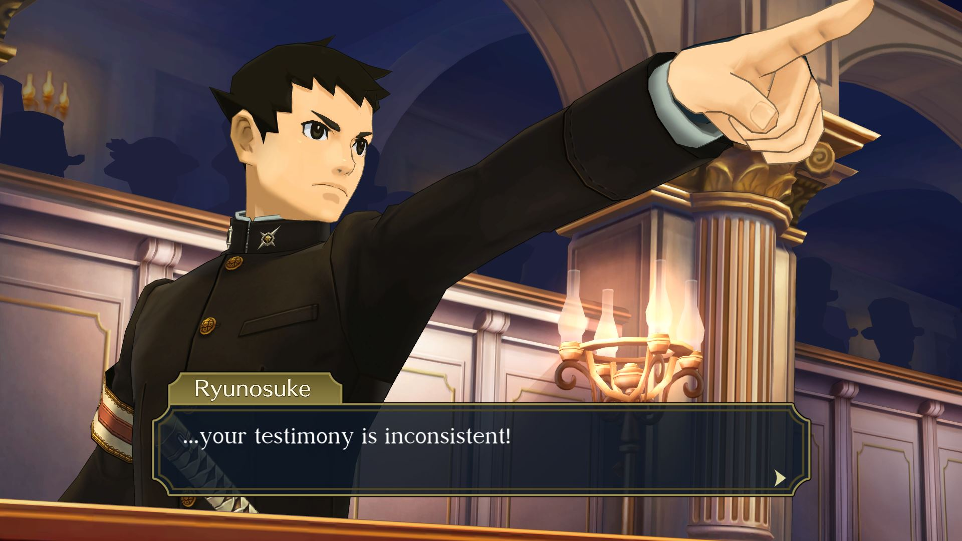 Great Ace Attorney Chronicles Objection