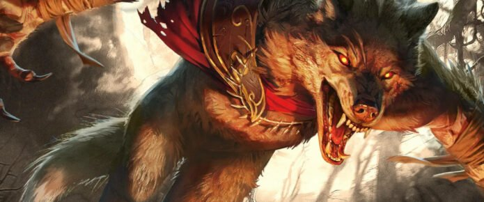 Magic: The Gathering Previews For Innistrad: Midnight Hunt Include New Double-Faced Dragon