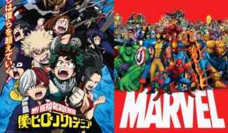 Marvel And My Hero Academia Combine For An Epic Variant Cover