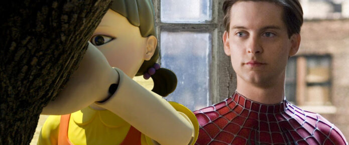 Watch This Hilarious Squid Game Parody Starring Tobey Maguire