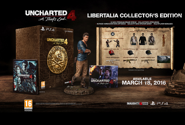 Uncharted 4: A Thief's End Will Launch In March 2016