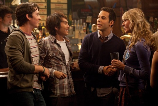 21 and Over group scene