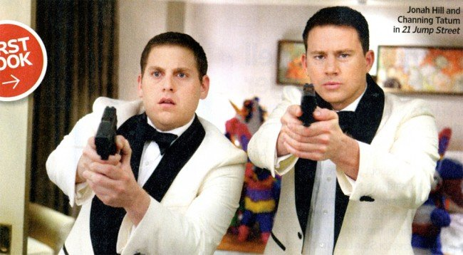 First Look At Jonah Hill And Channing Tatum In 21 Jump Street