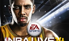 Kyrie Irving Is The NBA Live 14 Cover Athlete