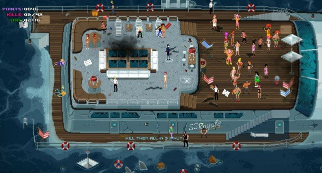 """Party Hard Will Bring """"Tongue-In-Cheek"""" Murder To Xbox One And PlayStation 4 This Spring"""