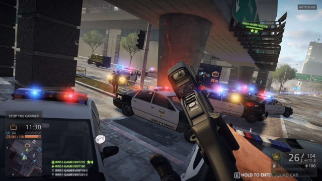 Battlefield: Hardline May Resort To 900p On PS4, 720p On Xbox One; In-Game Items Hint At Premium Service