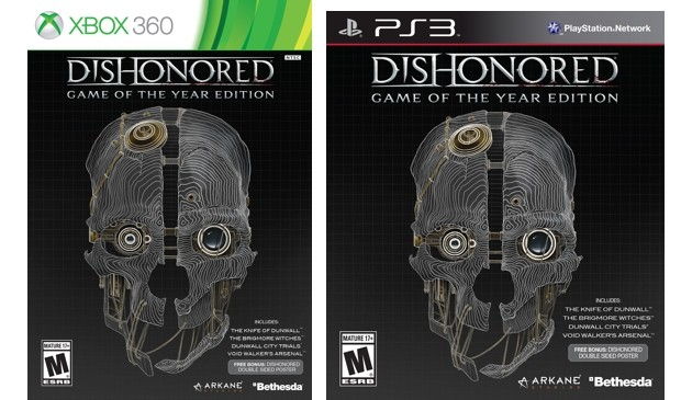Bethesda Announces Dishonored: Game Of The Year Edition