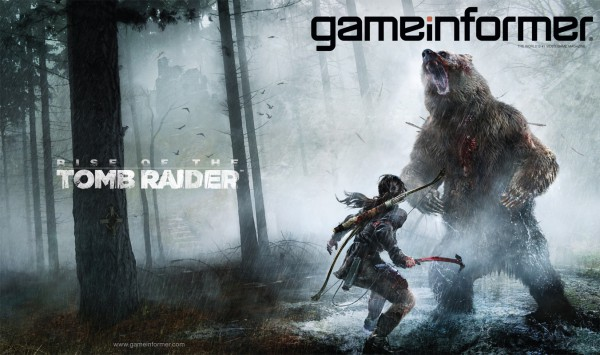 Rise Of The Tomb Raider Adorns February's Game Informer Cover