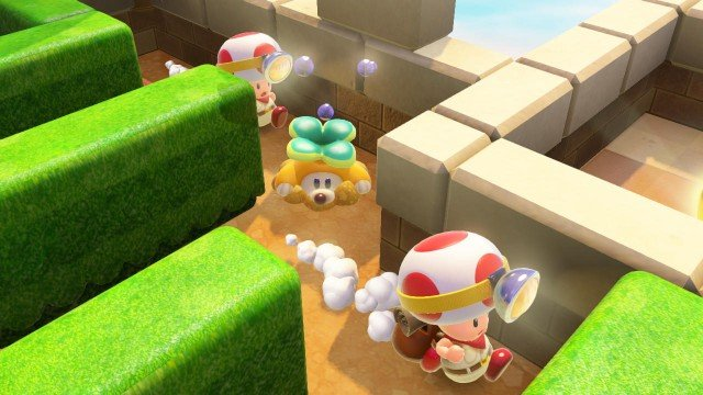 Captain Toad: Treasure Tracker Misses Out On Top 10 In UK Charts As Advanced Warfare Holds Onto Top Spot