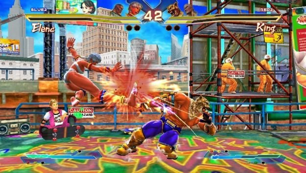 Street Fighter X Tekken Vita Review
