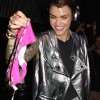 Ruby Rose Gets Underwear Thrown At Her During Performance At Pacha NYC