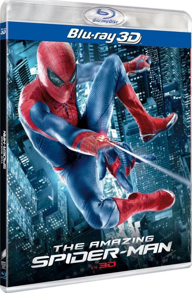 The Amazing Spider-Man Blu-Ray Cover Revealed And Release Date Set