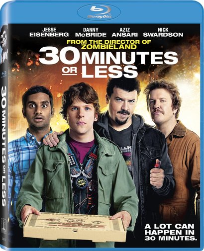 30 Minutes Or Less Blu-Ray Review