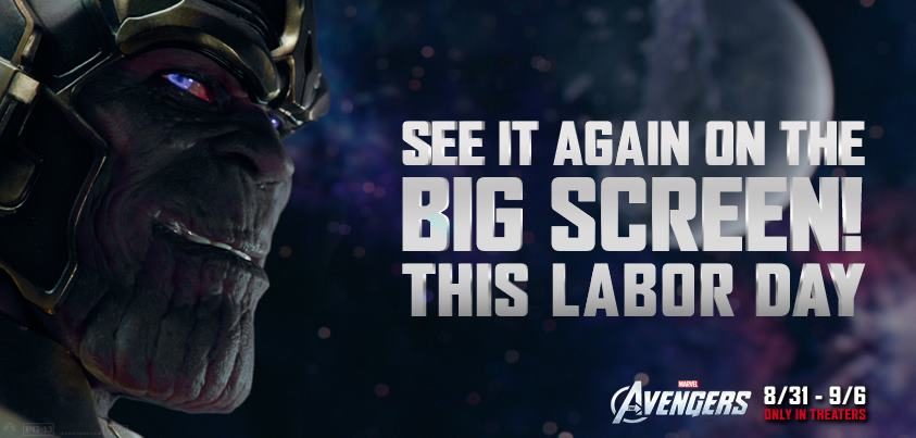 The Avengers Return To Save Labor Day Weekend!