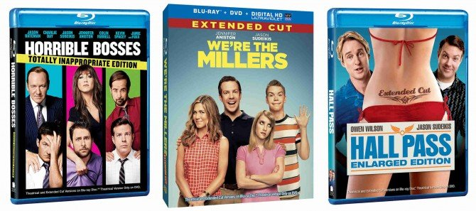 CONTEST: Win We're The Millers, Horrible Bosses And Hall Pass Blu-Ray