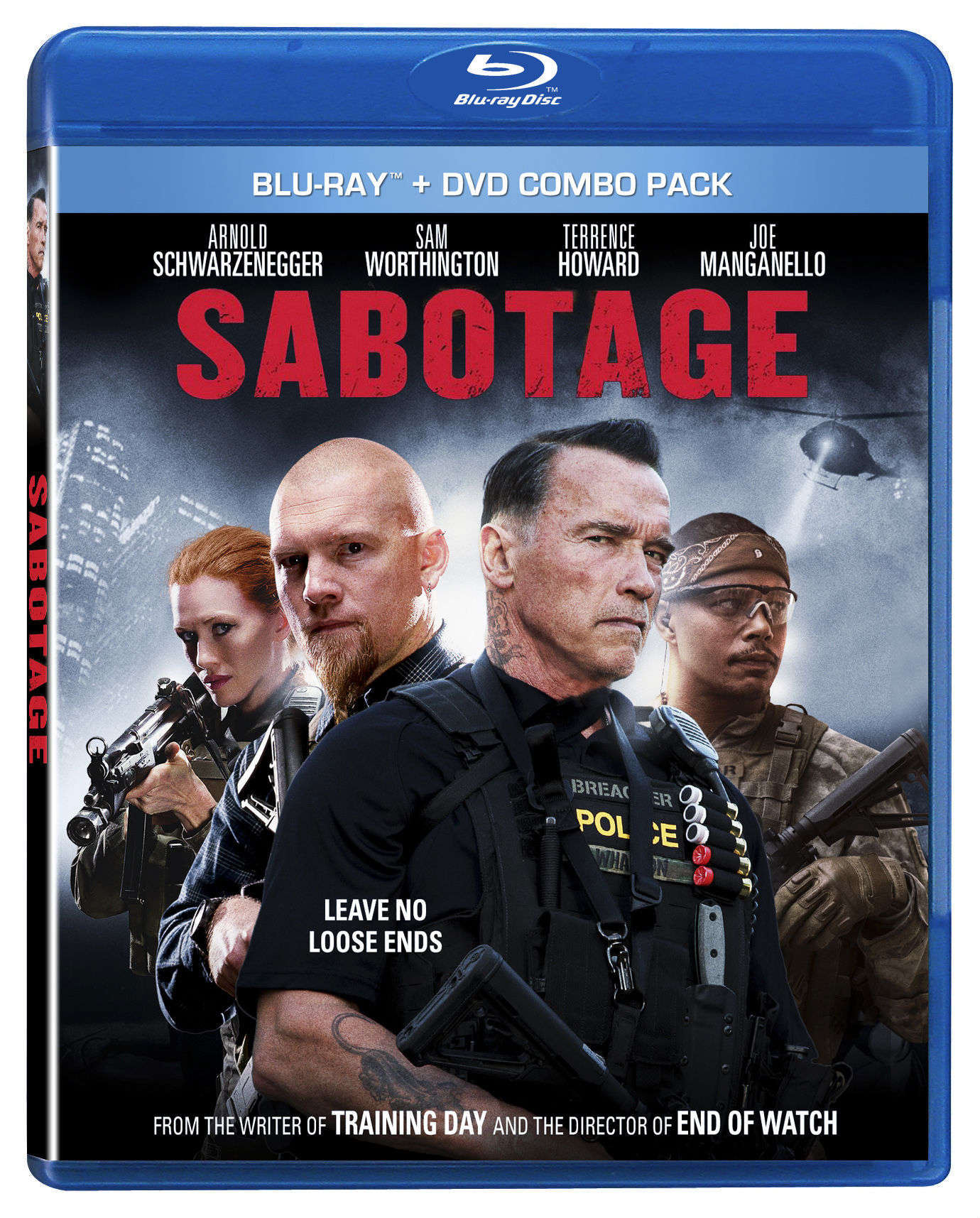 CONTEST: Win Sabotage Blu-Ray/DVD Combo Pack