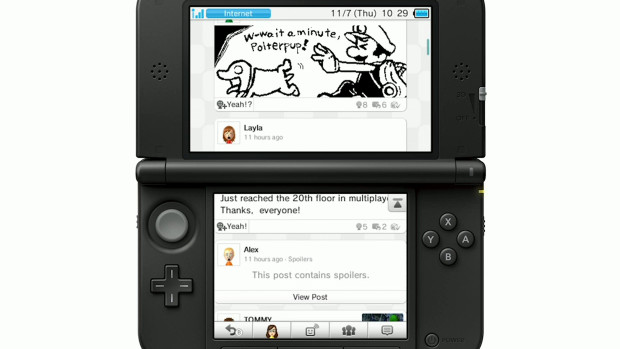 3DS Receiving Miiverse & YouTube With Upcoming Firmware Update