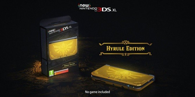 Check Out This Fancy Hyrule Edition New Nintendo 3DS XL