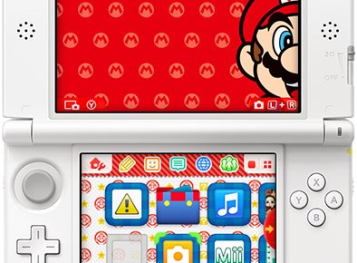 Japan's Next 3DS Update Will Offer Various Menu Themes