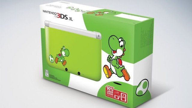 Yoshi Is Getting A Custom 3DS XL Just In Time For Yoshi's New Island