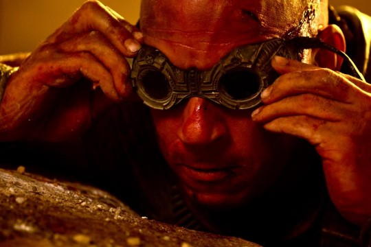 Vin Diesel Gets Broody And Wet In New Riddick Image