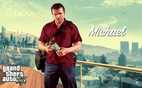 468px V michael with money 2880x1800 The 5 Most Insane Things I Did In The First Five Hours Of Grand Theft Auto V