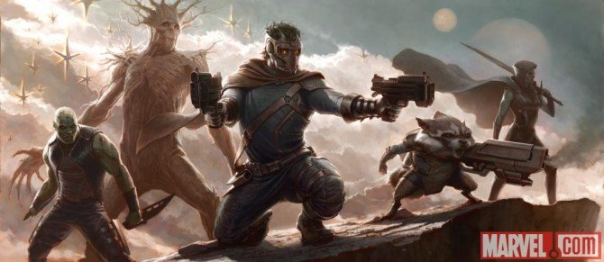 Marvel Officially Announces Guardians Of The Galaxy