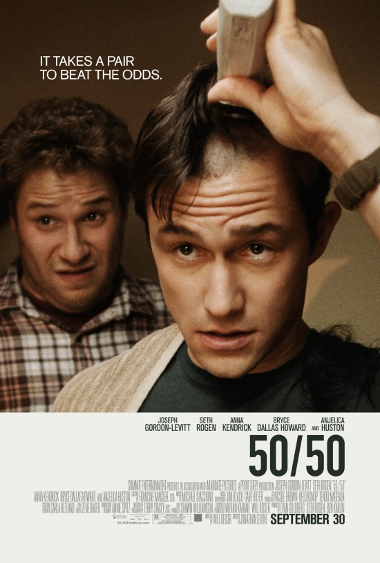 First Poster For Seth Rogen's 50/50