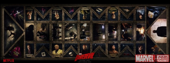 Awesome New Banner For Daredevil Season 2 Revealed
