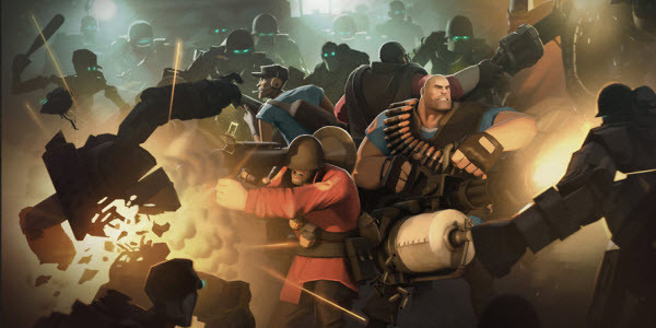 Team Fortress 2's Mann Vs. Machine Update Is Live