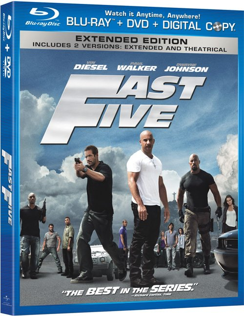 Fast Five Arriving On Blu-Ray This October