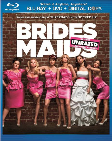 Bridesmaids Unrated Blu Ray Review