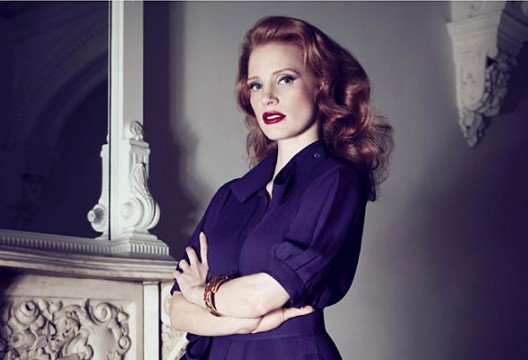 600full jessica chastain 1 528x360 Ten Actors Who've Got More Than Just A Pretty Face