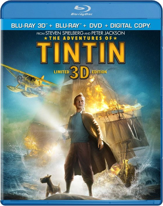 The Adventures Of Tintin Blu-Ray Review
