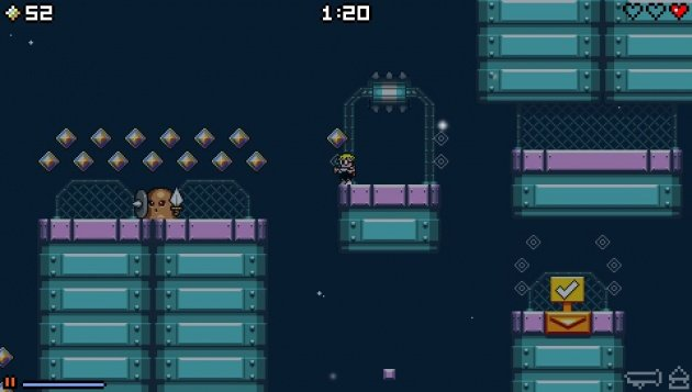 630x 2 Mutant Mudds Deluxe Review
