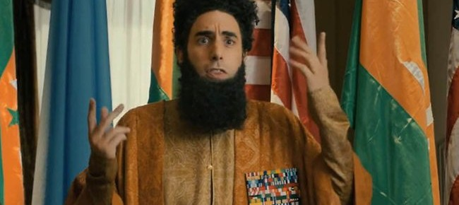 From Borat To Bond: Sacha Baron Cohen To Spoof 007